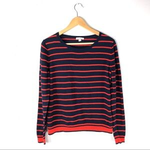J. Crew Small sweater pullover Peyton mixed stripe